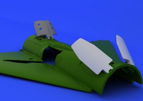 Eduard MiG-21PF/PFM/R airbrakes (EDUARD)