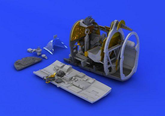 Eduard Spitfire Mk.XVI cockpit (EDUARD)