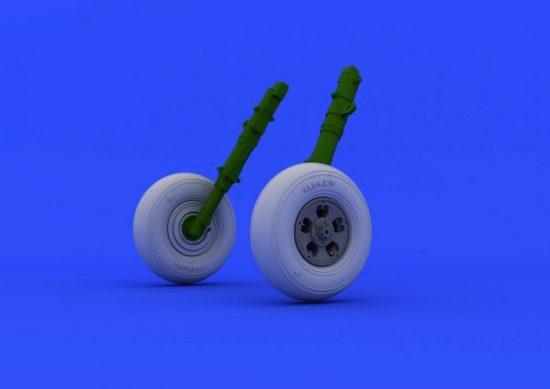 Eduard Spitfire Mk.I wheels (AIRFIX)