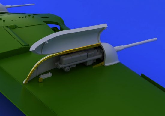 Eduard Bf 109 cannon pods (EDUARD)