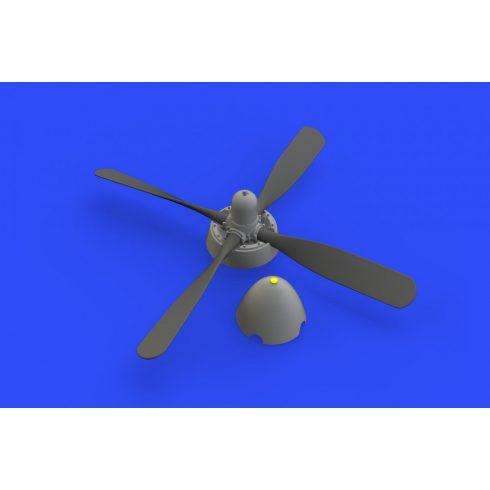 Eduard P-51D Hamilton Standard uncuffed propeller (Eduard)
