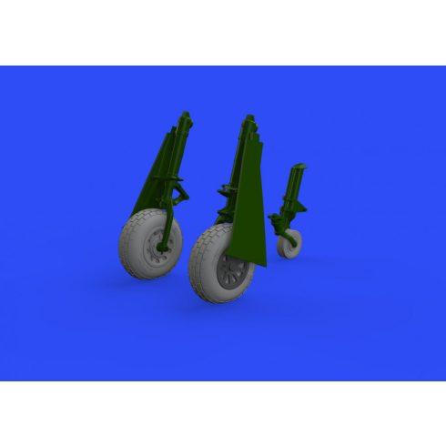 Eduard P-51D wheels block tread (Eduard)
