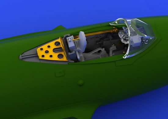 Eduard MiG-15bis cockpit (EDUARD)