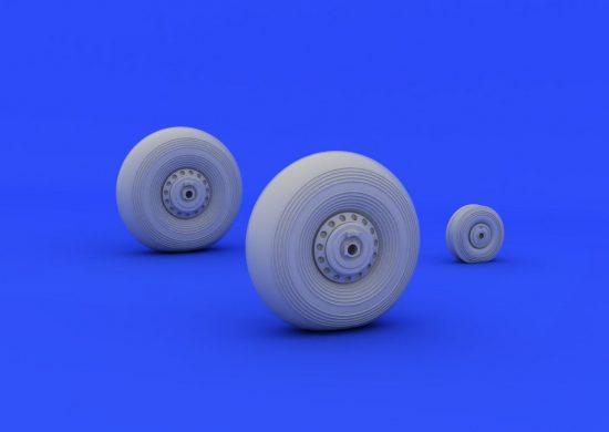 Eduard Lancaster wheels (AIRFIX)