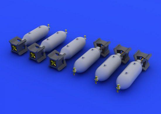 Eduard US 250lb bombs
