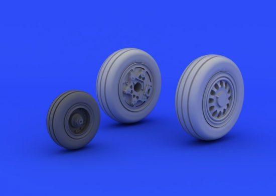 Eduard F-16CJ Block 50 wheels (TAMIYA)