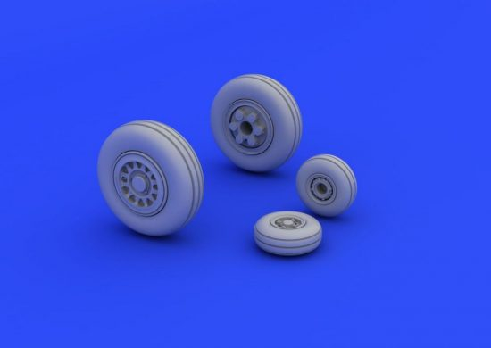Eduard JAS-39 wheels (REVELL)