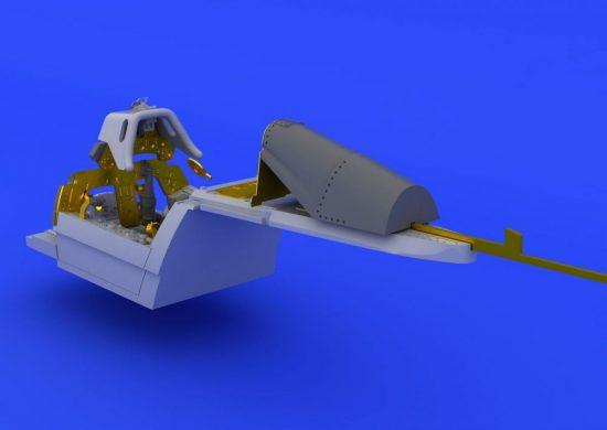 Eduard Fw 190A-8 cockpit (EDUARD)