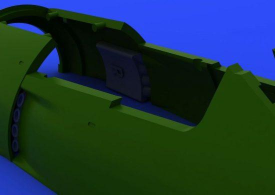 Eduard Fw 190A exhaust stacks (EDUARD)