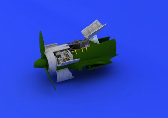 Eduard Fw 190A-8 engine & fuselage guns (EDUARD)