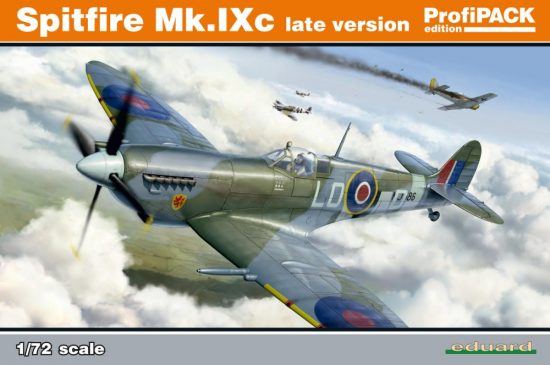 Eduard Spitfire Mk. IXc late version makett