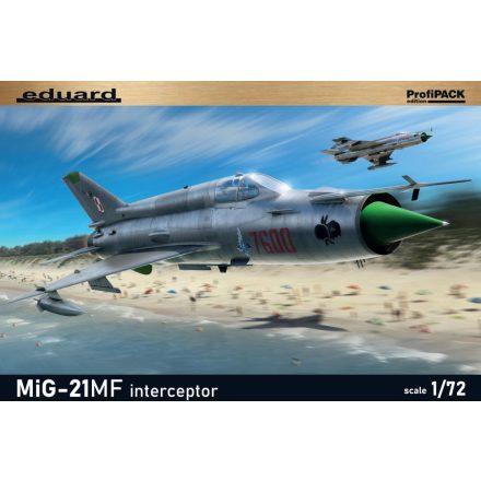 Eduard MiG-21MF interceptor makett