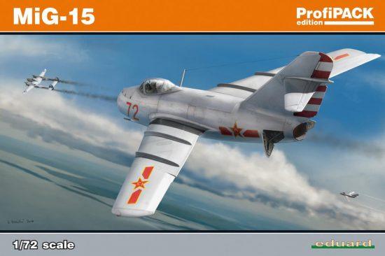 Eduard MiG-15 Profi Pack makett