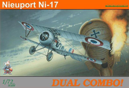 Eduard Nieuport Ni-17 Dual Combo makett