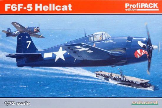 Eduard F6F-5 Hellcat makett