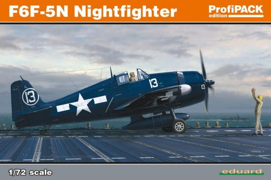 Eduard F6F-3/5N Nightfighter ProfiPACK makett