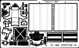 Eduard Go 229 Horten (Revell)