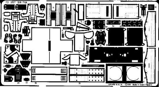 Eduard SR-71A Blackbird (Academy)