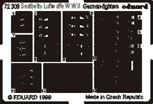 Eduard Seatbelts Luftwaffe Fighters