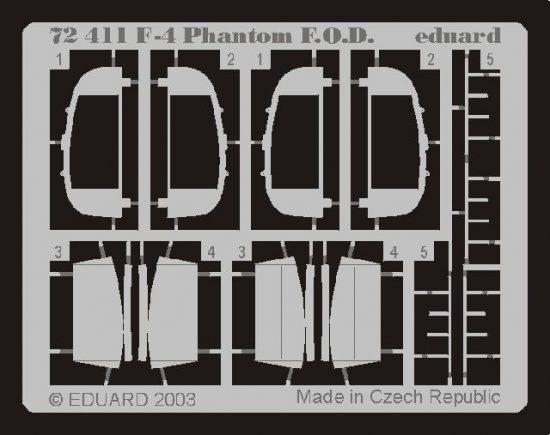 Eduard F-4 F.O.D. (Hasegawa)