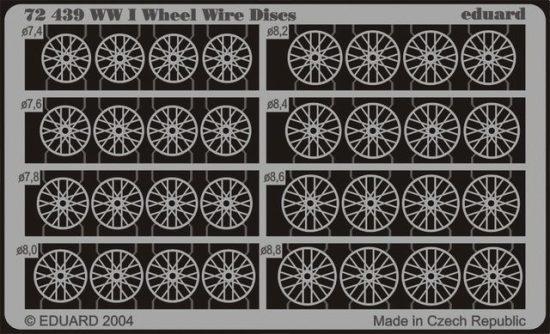 Eduard WWI Wheel Wire Discs
