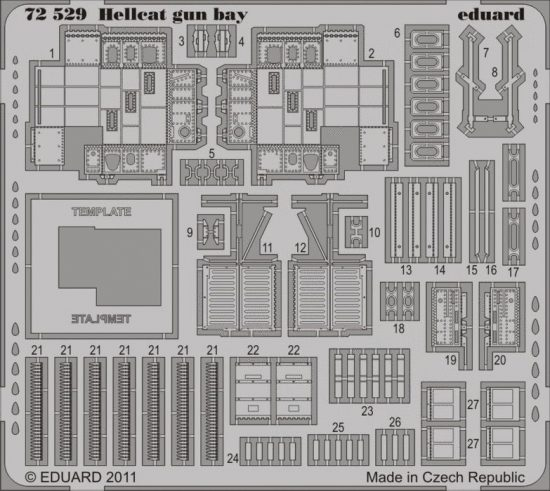 Eduard Hellcat gun bay (Eduard)