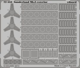 Eduard Sunderland Mk.I exterior (Italeri)