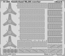 Eduard Sunderland Mk.III exterior (Italeri)