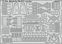 Eduard Blenheim Mk.IVF exterior (Airfix)