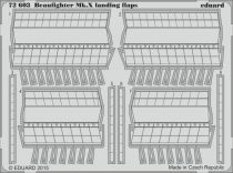 Eduard Beaufighter Mk.X landing flaps (Airfix)