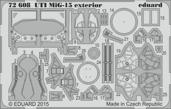 Eduard UTI MiG-15 exterior (Eduard)