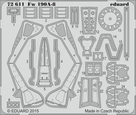 Eduard Fw 190A-8 (Eduard)