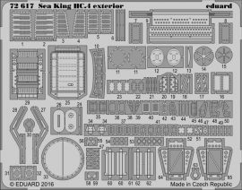 Eduard Sea King HC.4 exterior (Airfix)