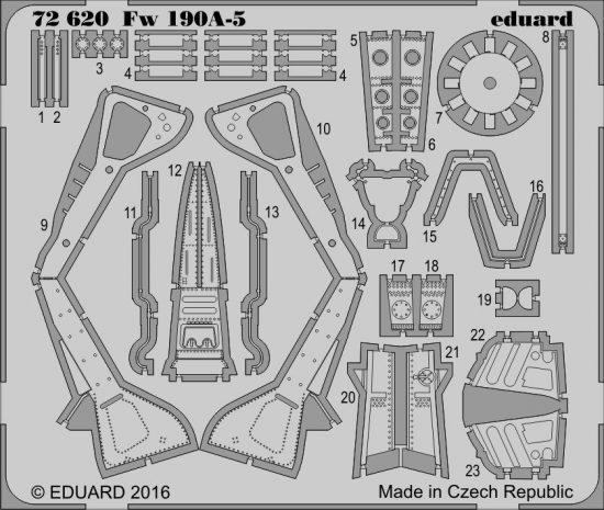 Eduard Fw 190A-5 (Eduard)