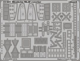 Eduard Blenheim Mk. IF exterior (Airfix)