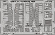 Eduard Spitfire Mk. VIII landing flaps (Eduard)