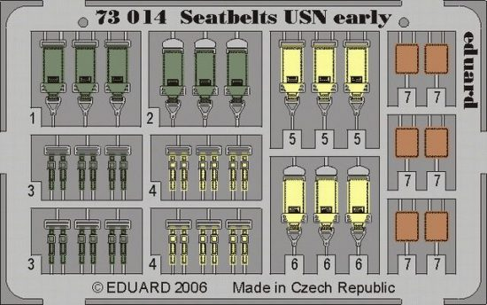 Eduard Seatbelts USN early