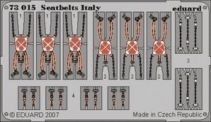 Eduard Seatbelts Italy WWII