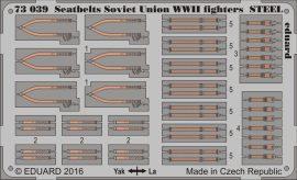 Eduard Seatbelts Soviet Union WWII fighters STEEL