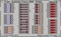 Eduard Seatbelts France WWI STEEL