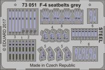 Eduard F-4 seatbelts grey STEEL