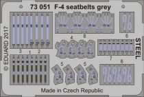 Eduard F-4 seatbelts grey STEEL