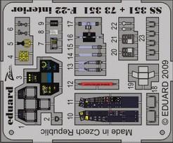 Eduard F-22 interior S.A. (Hobby Boss)