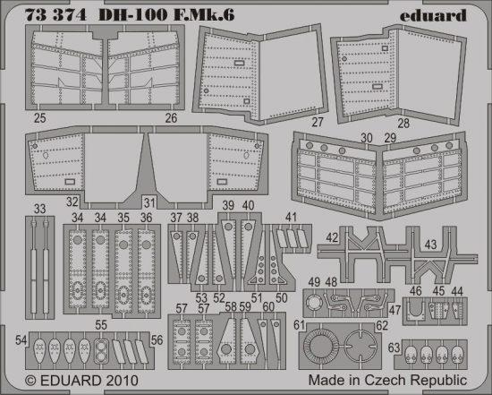Eduard DH-100 F.Mk.6 (Amodel)