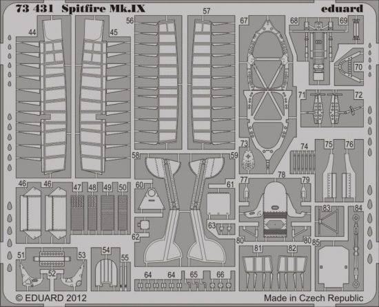 Eduard Spitfire Mk.IX (Italeri)