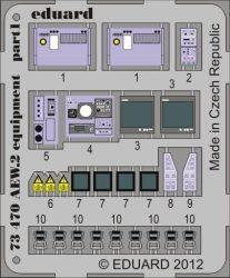 Eduard Sea King AEW.2 equipment (Cyber Hobby)