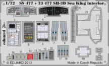 Eduard SH-3D Sea King interior S.A. (Cyber Hobby)