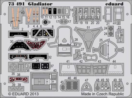 Eduard Gladiator (Airfix)