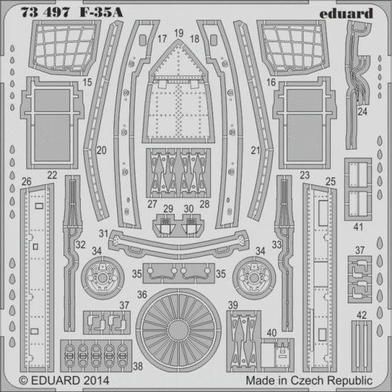 Eduard F-35A S.A. (Italeri)
