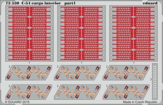Eduard C-54 cargo interior (Revell)